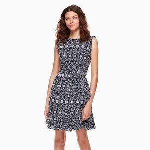 Kate Spade Eyelet Wrap Dress